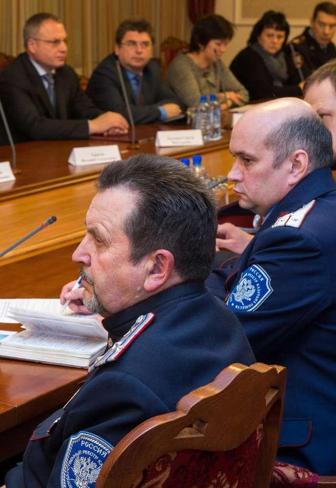 В Калужской области создадут Совет по делам казачества при губернаторе