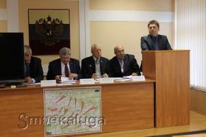 """На заседании оргкомитета """"Победа"""" в Спас-Деменске калуга"""