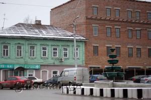 Новое здание на улице Баумана калуга