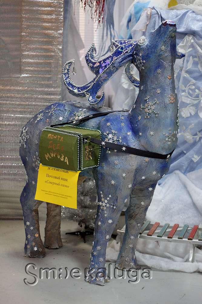 Калужане представили «Подарки Деду Морозу» на городской выставке