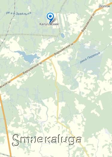 Посёлок Калуговский передали в состав Калужской области