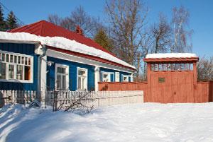 Дом-музей Паустовского в Тарусе калуга