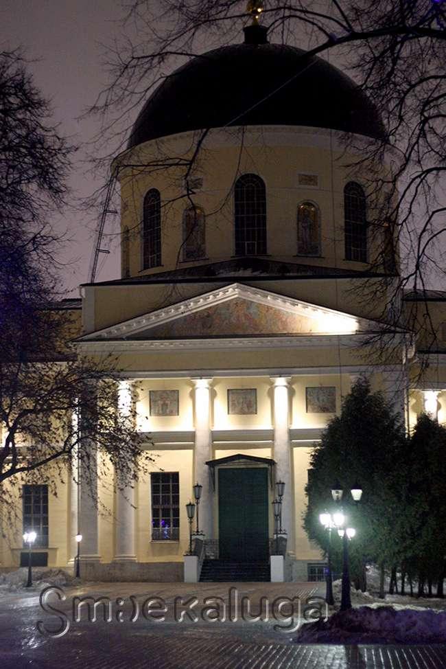 Рождественские службы в Сочельник пройдут во всех храмах Калуги (программа Рождественских богослужений-2015)