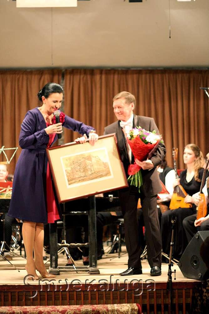 Заслуженного работника культуры России Вадима Фёдорова поздравили с юбилеем в Доме музыки
