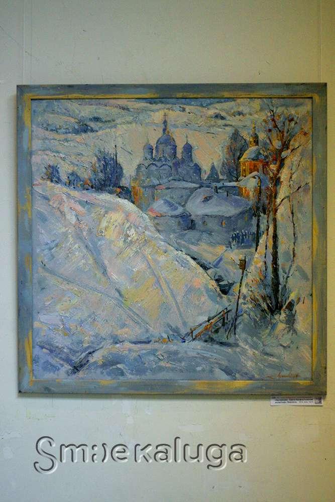 О том, что было «…До и после фузинок…», раскрыла персональная выставка Владимира Арепьева