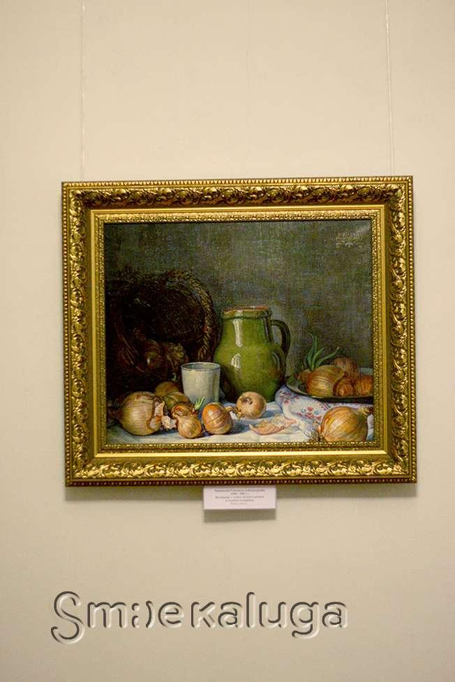 В Калужском музее изобразительных искусств открылась выставка Елизаветы Чернявской