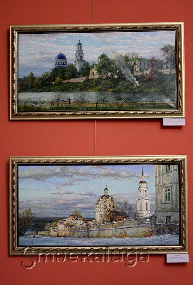 В галерее Калужского музея искусств открылась выставка-конкурс имени Афанасия Куликова
