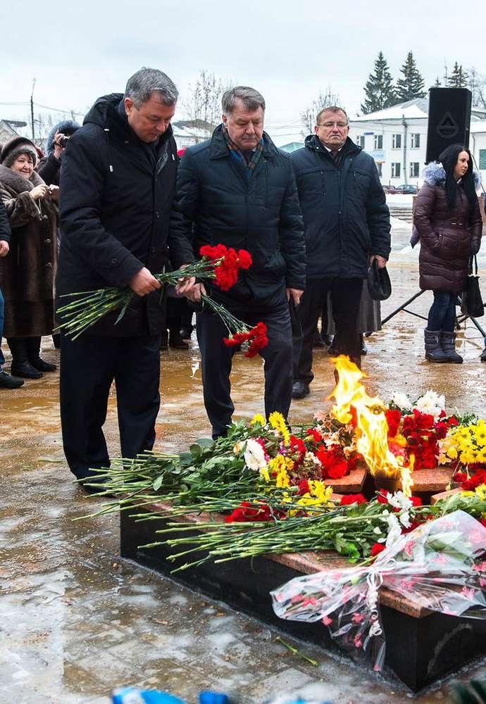 Медынь отпраздновала 73-летнюю годовщину освобождения от немецко-фашистских захватчиков