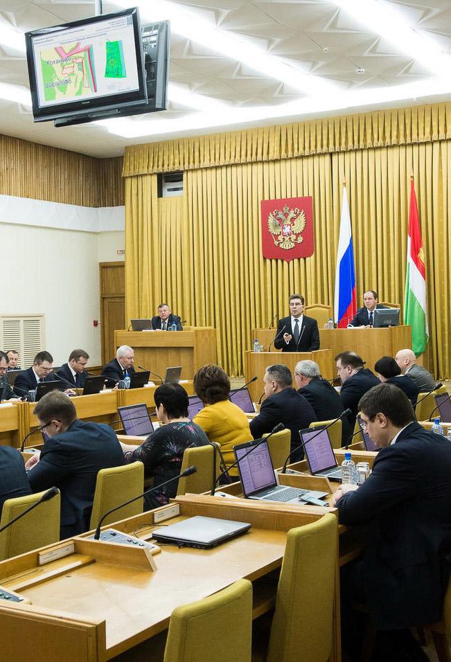 Одобрены генпланы деревни Алекино и села Вознесенья Тарусского района