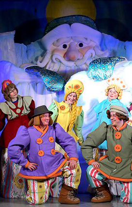 Юные зрители оценили спектакль Калужского театра кукол «Морозко»