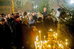 Рождественская ночь в храме калуга