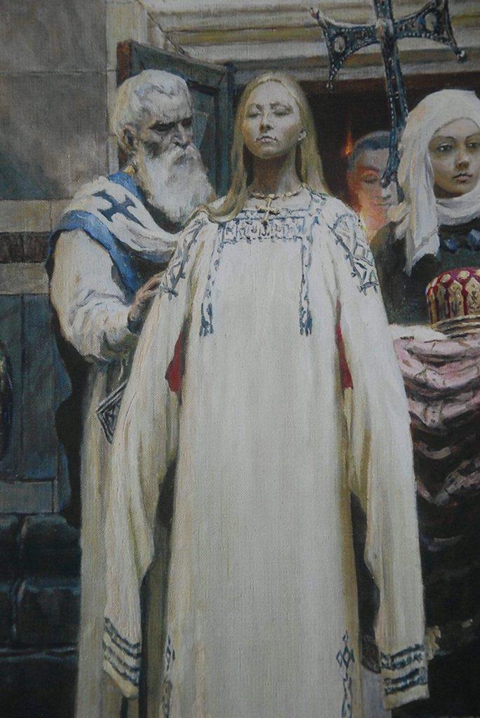 История крещения Руси в картинах: Калужская митрополия организовала выставку с ежедневными экскурсиями