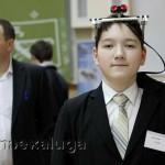 Один из участников чтений - Глеб Детинин (гимназия города Малоярославца) калуга