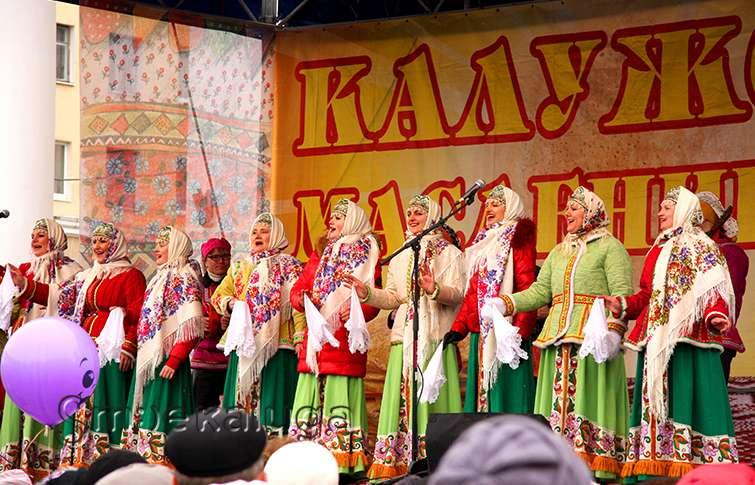 Народное гуляние «Калужская Масленица – 2016» пройдёт 13 марта на Театральной площади