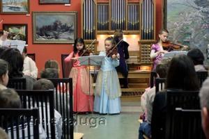 Благотворительный рождественский концерт калуга