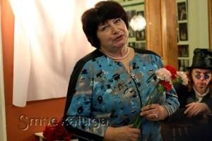 """Любовь Слепова, завлит театра, проработавший с обоими режиссёрами """"от звонка до звонка"""" калуга"""