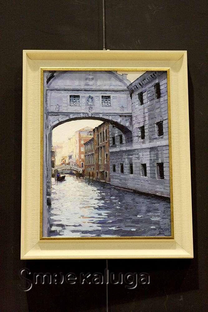 Живописная «Венеция» Гарри Азатова представлена на экспериментальной площадке INTERIOR BOUTIQUE