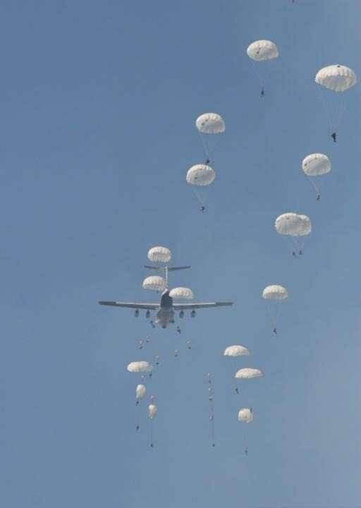 Военнослужащие ВДВ высадятся под Калугой 14 марта в рамках военно-патриотической акции