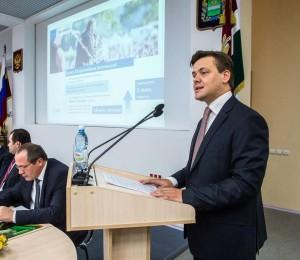 Павел Суслов на заседании (фотография пресс-службы Правительства Калужской области) калуга