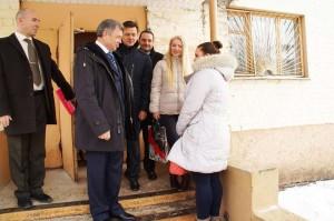 Во время посещения общежития калуга