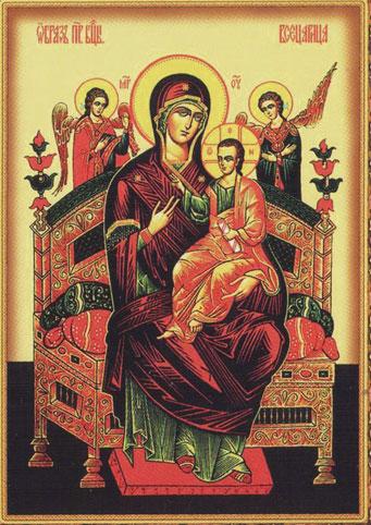 В Калугу прибудет икона Божией Матери «Пантанасса» и ковчег с частицей мощей святителя Николая