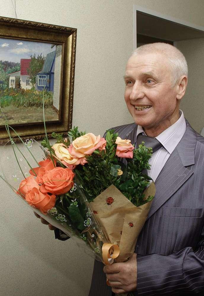 Калужский художник Виктор Кузин представил свои этюды в здании ГТРК «Калуга»