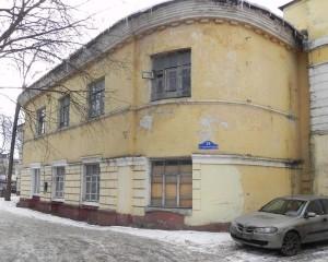 Многоквартирный жилой дом в здании Одигитриевской церкви в калуге