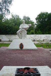 На воинском кладбище в Козельске может появиться мемориал воинам, погибшим от ран