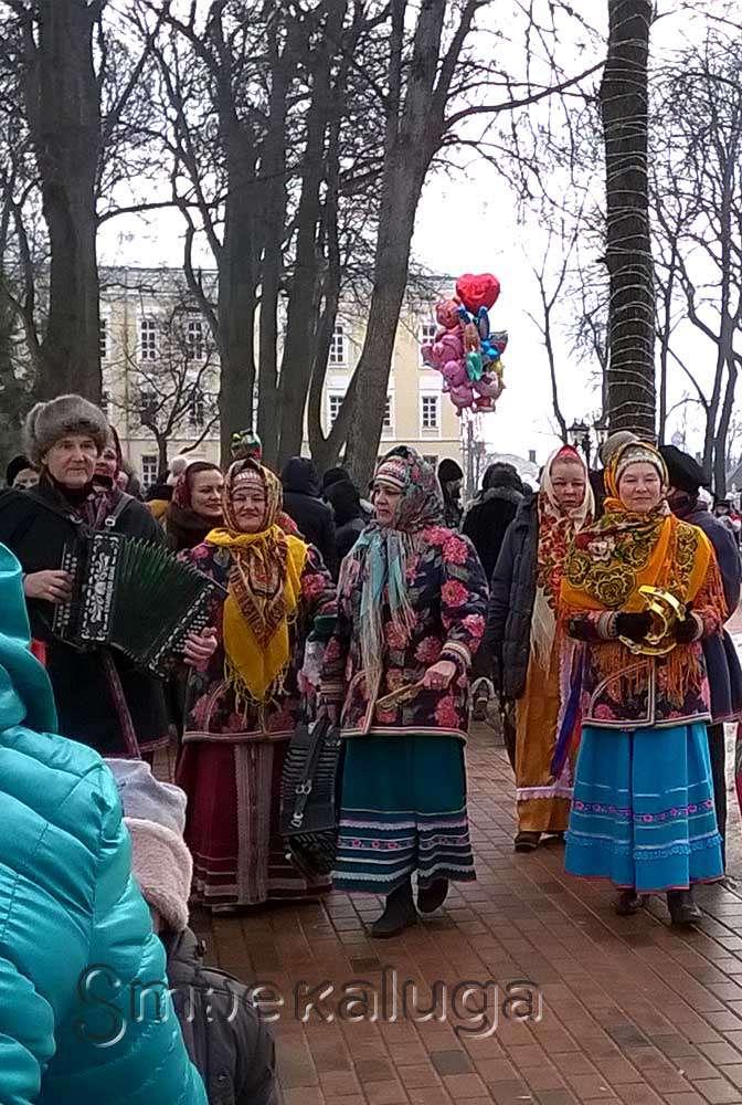 В выходные зиму провожали в Центральном парке культуры и отдыха