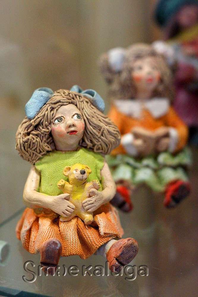 Выставка «Лепная сказка» в Доме мастеров