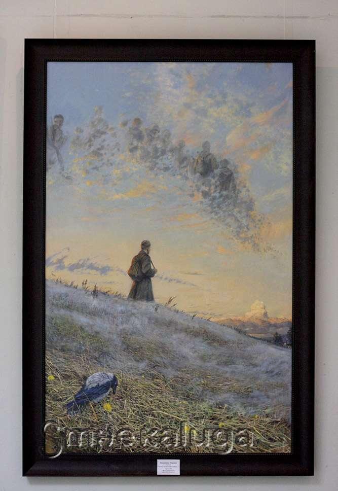 Выставка-конкурс «Итоговая-2014″ в выставочном зале Дома художника