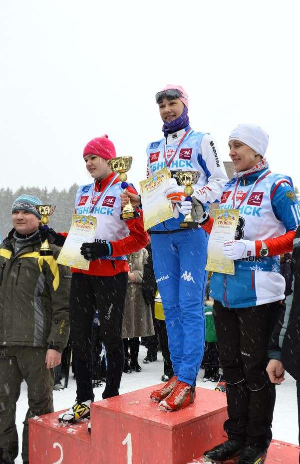 В Калуге и Обнинске прошла «Лыжня России – 2015»