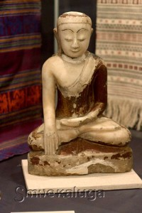 Фигура Будды из Калужского областного краеведческого музея калуга