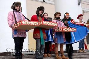 """На """"Калужской Масленице"""" калуга"""