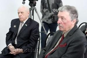 Участники конференции: Николай алмазов и заслуженный работник культуры РФ Николай Брокмиллер калуга