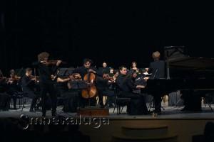 На концерте оркестра в калуге