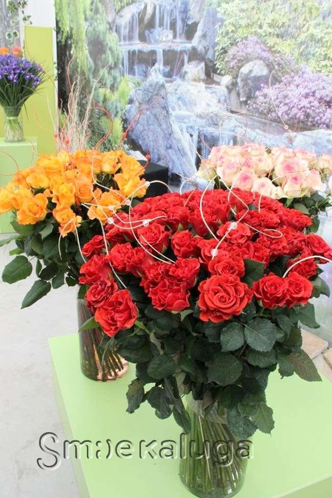 В Садовом центре «Галантус» открылась традиционная выставка цветов