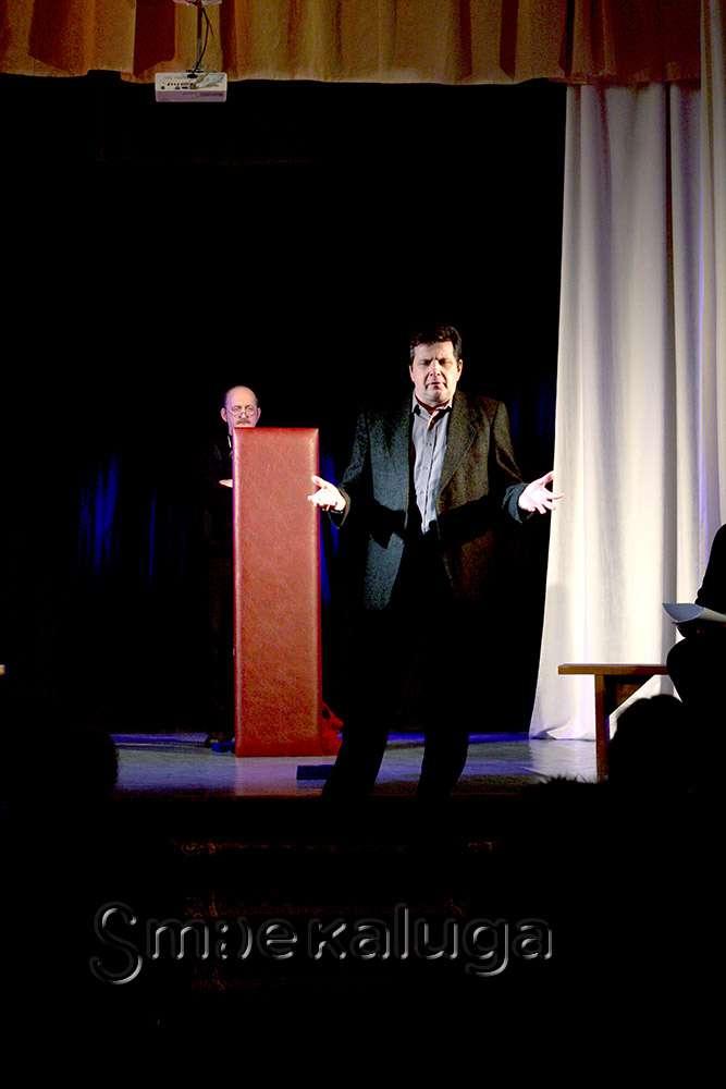 Литературно-поэтический театр представил премьеру «Завещание» по рассказам Н. В. Гоголя