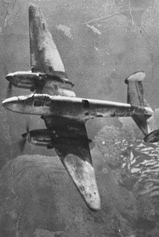 На месте найденного в выходные под Калугой фрагмента бомбардировщика Пе-2 установят памятный знак