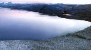 Озеро Лабынкыр калуга