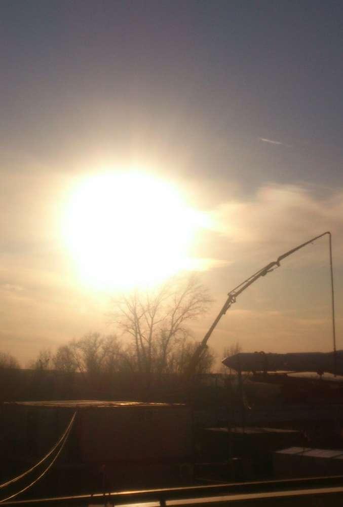 18 марта над Калугой наблюдали «ложные Солнца»