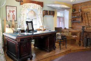 В доме-квартире Циолковского (фотография Государственного музея истории комонавтики) калуга