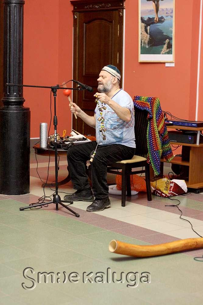 Оркестр интуитивной музыки Яна Бедермана сыграл в Калужском музее изобразительных искусств