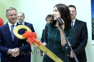 Церемония передачи симфолического ключа калуга