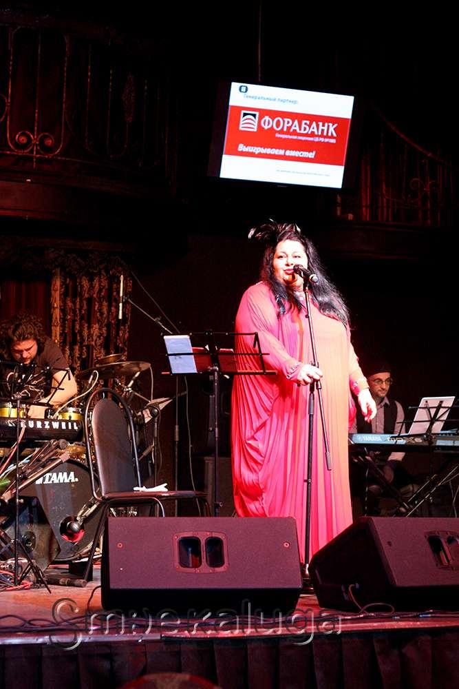 Участница телепроекта «Голос» Мариам Мерабова выступила в Калуге
