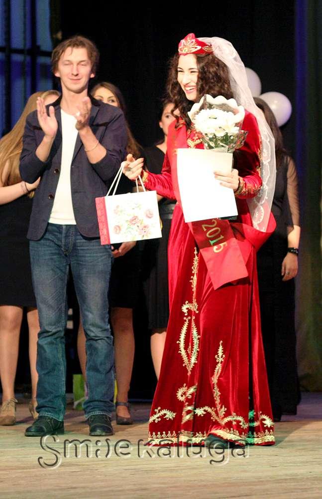 Титул «Мисс Этно 2015» получила представительница регионального отделения Союза армян России Астхик Галстян