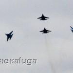 """Показательные выступления """"Русских Витязей"""" под калугой"""