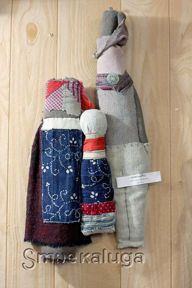В Доме мастеров открылась выставка традиционной свадебной куклы