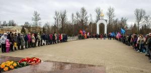 """На открытии """"Вахты памяти - 2015"""" калуга"""