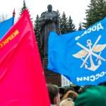 """На открытии """"Вахты памяти - 2015"""" город калуга"""